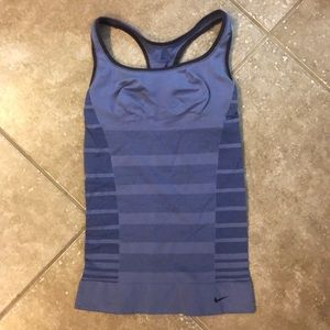 Nike Fitted Purple Tank (small)